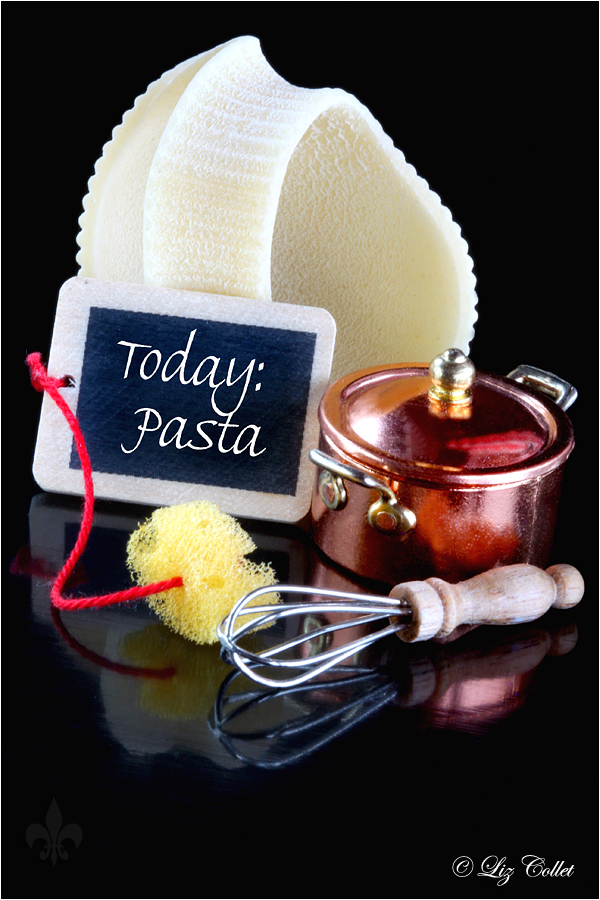 Today : Pasta ! © Liz Colle