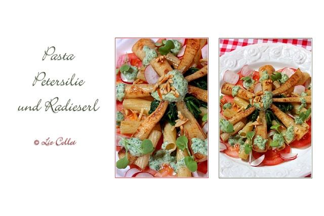 Peterl, Pasta und Radieserl © Liz Collet