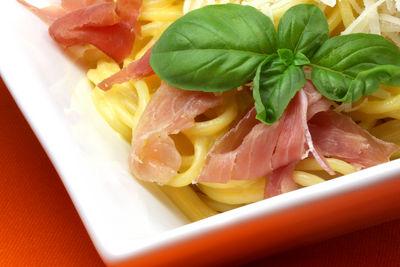 Spaghetti Carbonara © Liz Collet